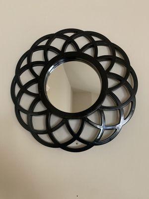 Small black wall mirror for Sale in Manassas Park, VA