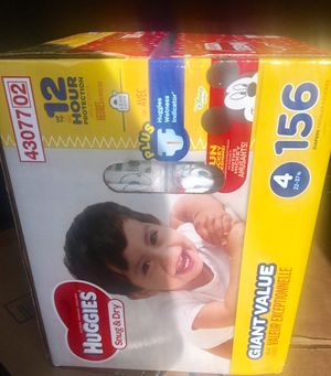 Huggies Size 4 (156 diapers) for Sale in Baltimore, MD