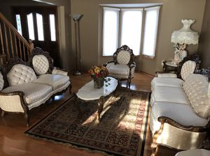 Antique French style living room for Sale in Dearborn, MI