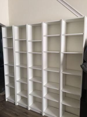 5 bookshelves for Sale in Columbus, OH