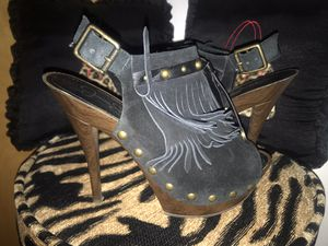 Jessica Simpson Black open toe for Sale in Chelsea, MA
