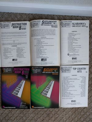 E-Z play keyboard music (for collection) for Sale in San Diego, CA