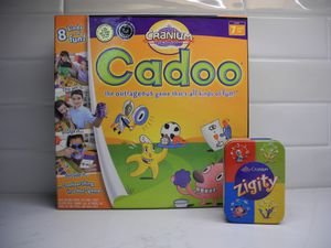 NEW SEALED Toy of the Year Cranium Cadoo Board Game & Zigity Card Game in Collectible Tin for Sale in Austin, TX