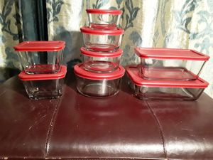 Anchor hocking classic glass food storage containers for Sale in Perris, CA