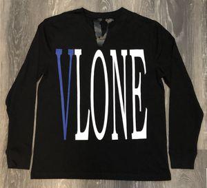 Vlone Staple Long Sleeve Tee Blue on Black - Size M for Sale in Parkersburg, WV