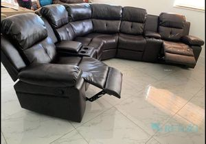 Sectional recliner // financiamiento disponible for Sale in Hialeah, FL