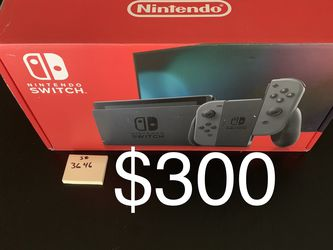 NEW Nintendo Switch - V2 Grey for Sale in Cupertino,  CA
