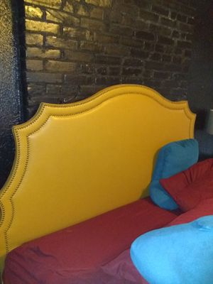 King sized headboard and frame. for Sale in Florissant, MO