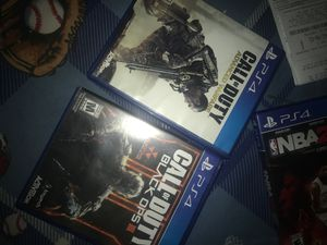 Call of duty advanced warfare,black ops 3. PS4 for Sale in San Diego, CA