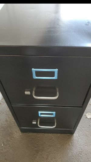 New 2 drawer locking metal file cabinet for Sale in Vista, CA