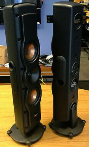KLIPSCH RVX- 42 WITH SPEAKER STANDS $250 for Sale in Columbus, OH