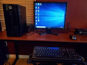 Hp pavilion 251 computer with monitor for Sale in Bakersfield, CA