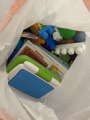 Bags full with toys for toddlers or younger for Sale in Los Angeles, CA