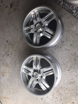 18 inch rims with sensors for Sale in Dearborn, MI
