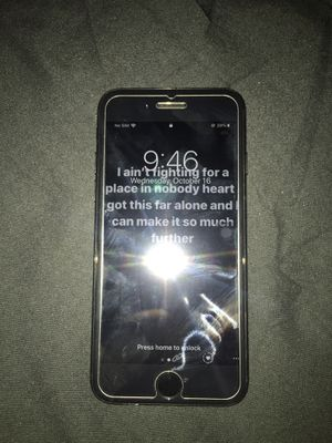 iPhone 8 unlocked to any carrier basically brand new only had phone for 6 months it has a brand new screen just got it fixed price is $400 nothing m for Sale in Philadelphia, PA