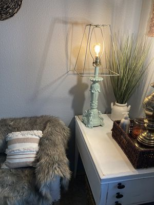 Shabby Chic Skeleton Lamp for Sale in Yelm, WA