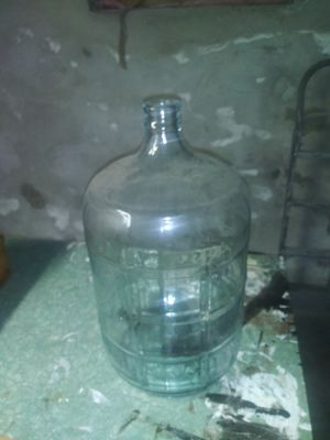 Antique glass waterbottle for Sale in Clifton Heights, PA