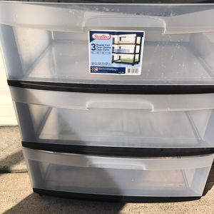 Plastic Drawers for Sale in Missouri City, TX