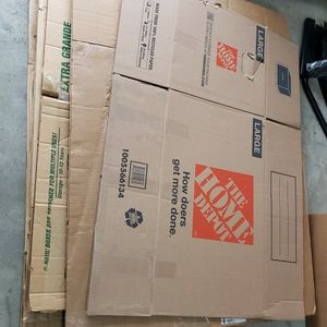 Moving Shipping Boxes Packaging Galore for Sale in Granite Falls, WA
