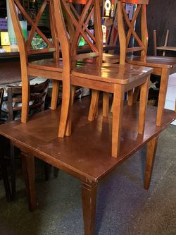 Kitchen table with four chairs for Sale in Tacoma,  WA