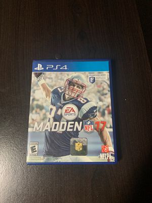 Madden 17 (PS4) for Sale in Auburn, WA