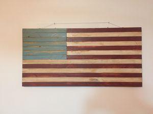 Wooden flag for Sale in Murfreesboro, TN