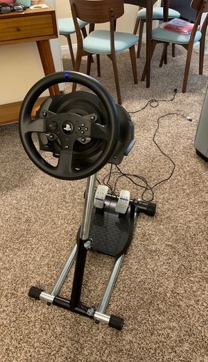 Thrustmaster T300RS for PS4/PS3 with Wheel Stand Pro for Sale in Burbank, CA