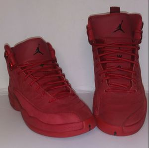 Jordan 12 Red Suede Size 6 for Sale in Dundalk, MD