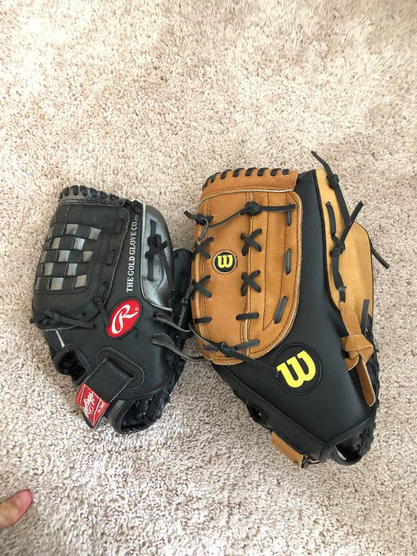 Baseball gloves