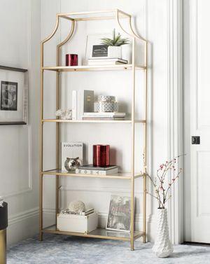 Gold Bookcase ✨Brand New!✨Unopened Box!📦 for Sale in Santa Clarita, CA