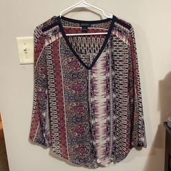 Lucky Brand Blouse Size M for Sale in Valley Center,  KS