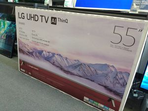 """55"""" LG 4k UHD Smart HDR LED TV for Sale in San Diego, CA"""