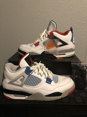 "Jordan Retro 4 ""What The 4"" size 10.5 for Sale in Houston, TX"