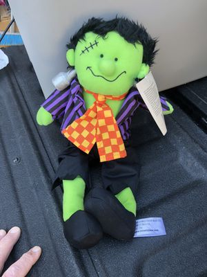 Frankenstein, Beverly Hills Teddy bear Company, new with tags for Sale in Glenshaw, PA
