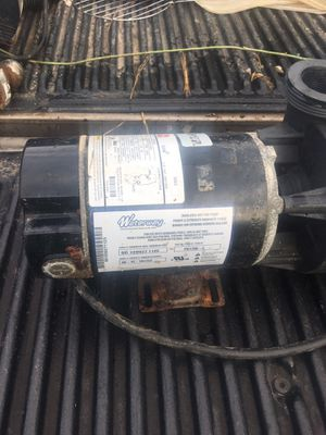 1.5 hp pool pump motor used for Sale in Ashland City, TN