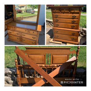 Vintage Ethan Allen Full Bedroom Set /Will Split Up for Sale in East Providence, RI