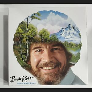 BRAND NEW Bob Ross The Art of Chill Board Game sealed complete for Sale in Woodstock, GA