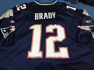 New England Patriots Tom Brady Reebok NFL Jersey 4XL for Sale in DeSoto, TX