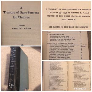 1957 Book of Story Sermons for Children for Sale in Smyrna, TN