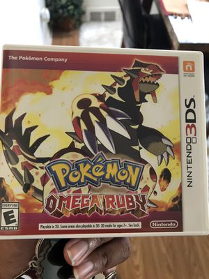 Omega Ruby (Nintendo 3DS) for Sale in Southfield, MI