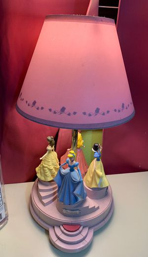 Disney princess night light for Sale in Fontana, CA