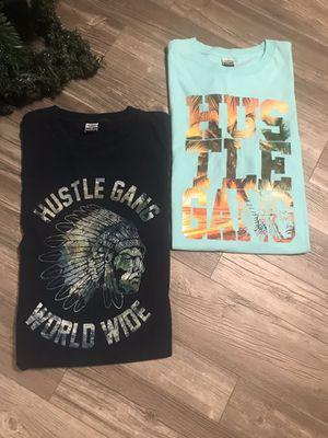 Men's 2X Akoo Hustle Gang Urban Tee Bundle for Sale in Grapevine, TX