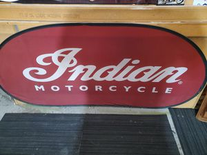 INDIAN MOTORCYCLE BANNER for Sale in Cypress, CA