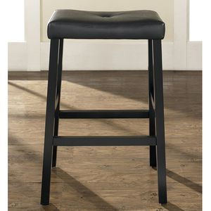 Saddle Seat Bar Stool - Set of 2 Crosley Upholstered 29 in. for Sale in Hollywood, FL