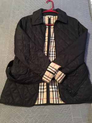 Authentic Quilted Burberry Jacket for Sale in Nashville, TN