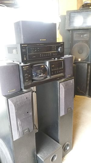 Lots of house stereo equipment for Sale in Tacoma, WA