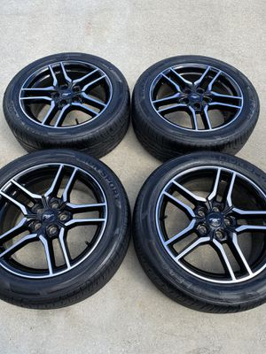 "18"" Ford Mustang GT OEM rims wheels tires! for Sale in Boynton Beach, FL"