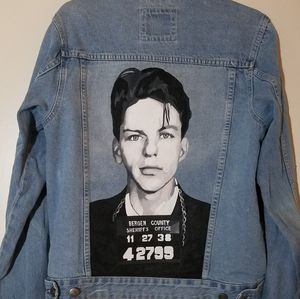 Frank Sinatra Custom Jean Jacket Medium men for Sale in Santa Monica, CA