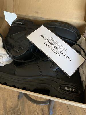 Steel toe work boots for Sale in San Bernardino, CA