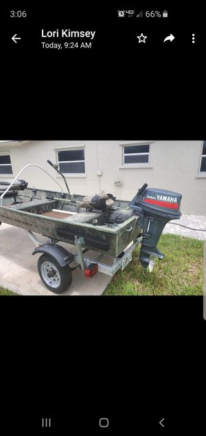 MINT cond . 12ft Aluminum Sea Nymph boat for Sale in Pompano Beach, FL
